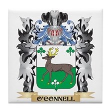 O'Connell Coat of Arms - Family Crest Tile Coaster