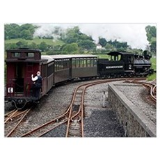Brecon Mountain Railway, Wales 2 Canvas Art