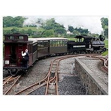 Brecon Mountain Railway, Wales 2 Poster