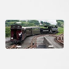 Brecon Mountain Railway, Wa Aluminum License Plate