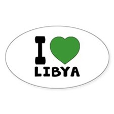 I Love Libya Decal