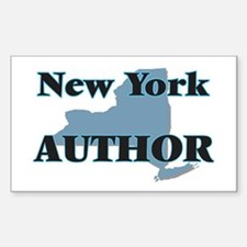 New York Author Decal