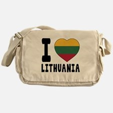 I Love Lithuania Messenger Bag