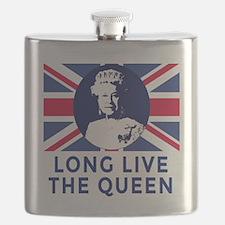 Queen Elizabeth II:  Long Live the Queen Flask