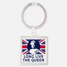 Queen Elizabeth II:  Long Live the Square Keychain
