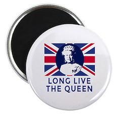Queen Elizabeth II:  Long Live the Queen Magnet