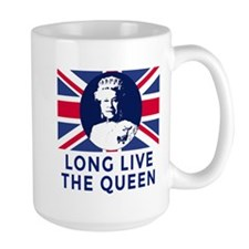 Queen Elizabeth II:  Long Live the Quee Mug