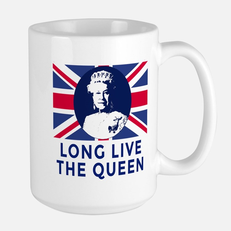 Queen Elizabeth II:  Long Live the Quee Mug