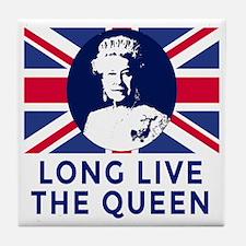 Queen Elizabeth II:  Long Live the Qu Tile Coaster