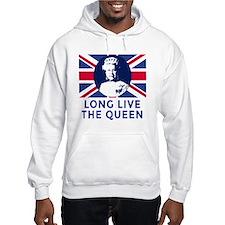 Queen Elizabeth II:  Long Live t Hoodie Sweatshirt