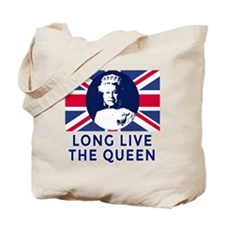Queen Elizabeth II:  Long Live the Queen Tote Bag