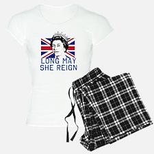 Queen Elizabeth II:  Long M Pajamas