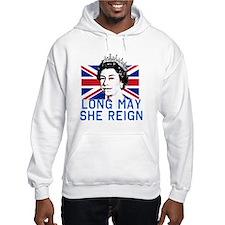 Queen Elizabeth II:  Long May Sh Hoodie