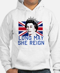 Queen Elizabeth II:  Long May Sh Hoodie Sweatshirt