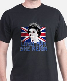Queen Elizabeth II:  Long May She Rei T-Shirt