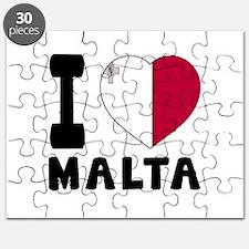 I Love Malta Puzzle