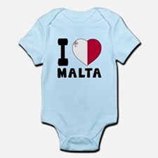 I Love Malta Onesie