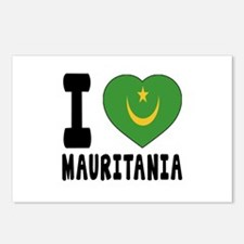 I Love Mauritania Postcards (Package of 8)