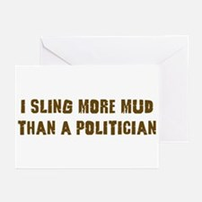 Mud Slinger Off road gifts Greeting Cards (Pk of 2