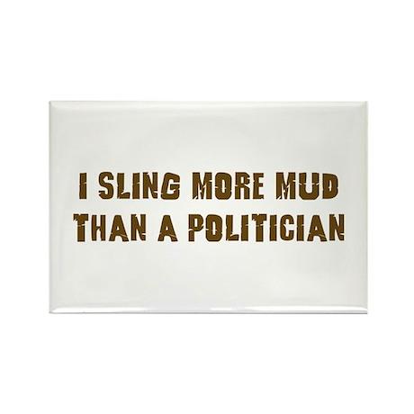 Mud Slinger Off road gifts Rectangle Magnet (100 p