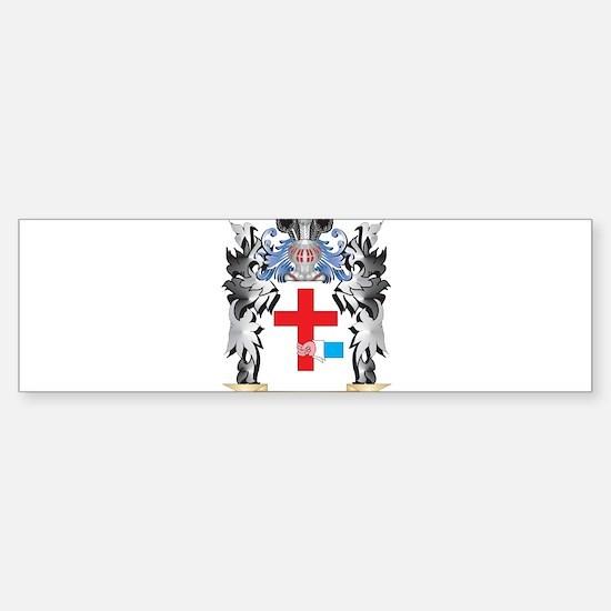 O'Donnell Coat of Arms - Family Cre Bumper Bumper Bumper Sticker