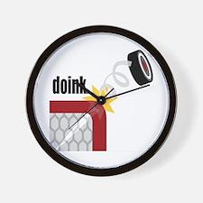 Doink Wall Clock