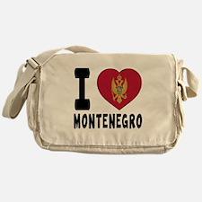 I Love Montenegro Messenger Bag