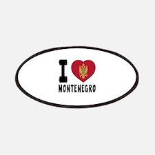 I Love Montenegro Patch