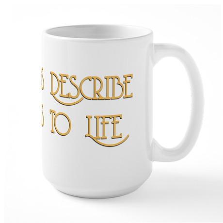 Film Brings Life Large Mug