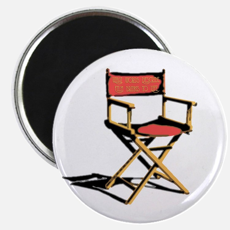 "Film Brings Life 2.25"" Magnet (100 pack)"