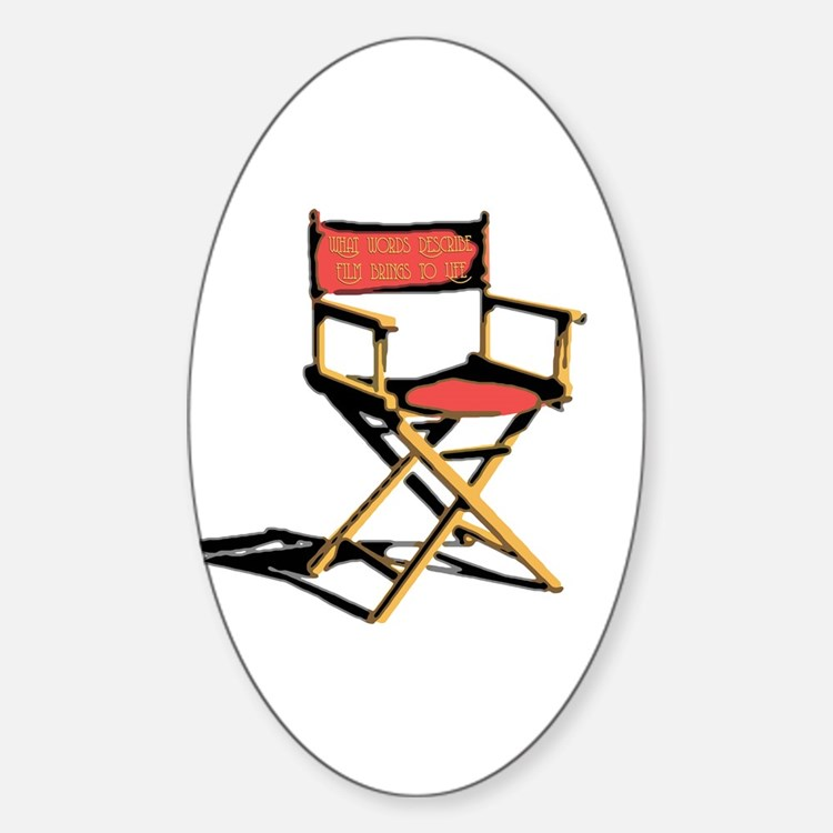 Film Brings Life Oval Decal