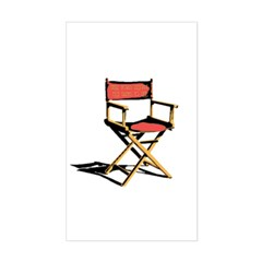 Film Brings Life Rectangle Decal
