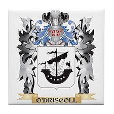 O'Driscoll Coat of Arms - Family Cres Tile Coaster