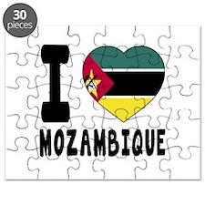 I Love Mozambique Puzzle
