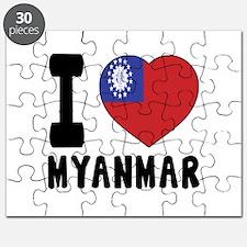 I Love MYANMAR Puzzle