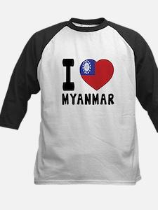 I Love MYANMAR Tee