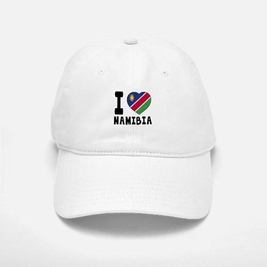 I Love Namibia Baseball Baseball Cap