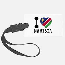 I Love Namibia Luggage Tag