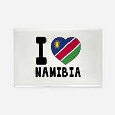 I Love Namibia Rectangle Magnet