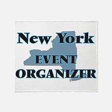 New York Event Organizer Throw Blanket