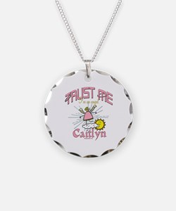 Angelic Caitlyn Personalized Necklace