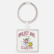 Angelic Caitlyn Personalized Keychains