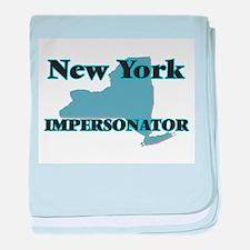 New York Impersonator baby blanket