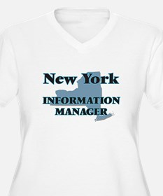 New York Information Manager Plus Size T-Shirt