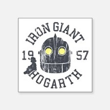 Iron Giant Hogarth 1957 Vintage Sticker
