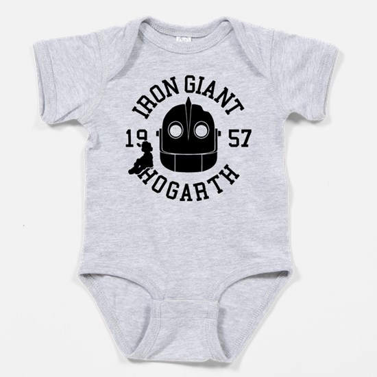 Iron Giant Hogarth 1957 Baby Bodysuit