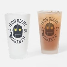 Iron Giant Hogarth 1957 Retro Drinking Glass