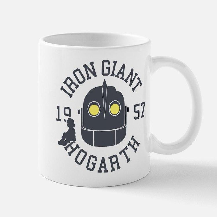 Iron Giant Hogarth 1957 Retro Mugs