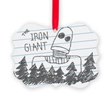 Theirongiantmovie Picture Frame Ornaments