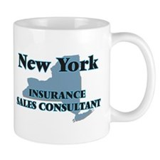 New York Insurance Sales Consultant Mugs